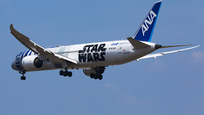 JA873A - Boeing 787-9 Dreamliner - All Nippon Airways (Air Japan)