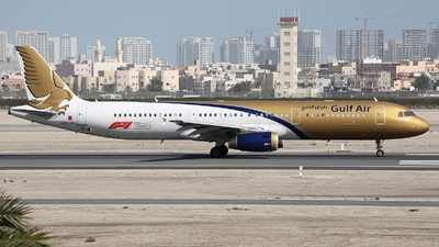 A9C-CD - Airbus A321-232 - Gulf Air