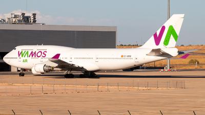 EC-MRM - Boeing 747-4H6 - Wamos Air