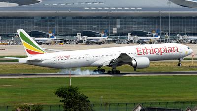 ET-ASL - Boeing 777-360ER - Ethiopian Airlines
