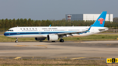 A picture of B1091 - Airbus A321271N - China Southern Airlines - © Ji donghao