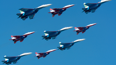 17 - Sukhoi Su-27UB Flanker C - Russia - Air Force