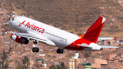 N520TA - Airbus A319-132 - Avianca Central America