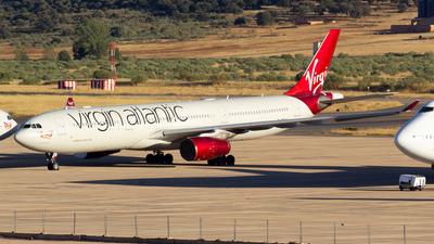 A picture of GVRAY - Airbus A330343 - Virgin Atlantic - © Alejandro Gutierrez Martin