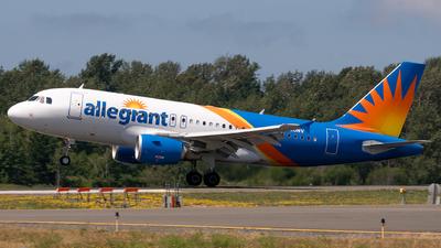 A picture of N320NV - Airbus A319111 - Allegiant Air - © Logan m