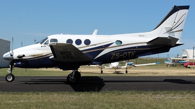 ZS-OTK - Beechcraft C90A King Air - Private