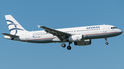 A picture of SXDGE - Airbus A320232 - Aegean Airlines - © Christian Kruhl