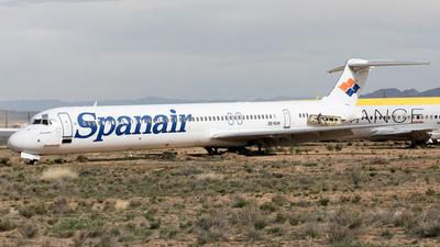 SE-RJH - McDonnell Douglas MD-82 - Spanair