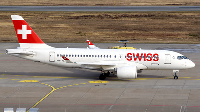 A picture of HBJBA - Airbus A220100 - Swiss - © Günther Feniuk