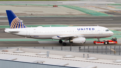 A picture of N491UA - Airbus A320232 - United Airlines - © Jeremy D. Dando