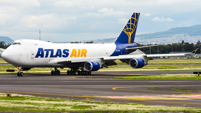 N496MC - Boeing 747-47UF(SCD) - Atlas Air