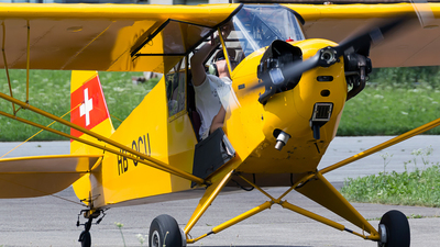 HB-OCU - Piper J-3C-65 Cub - Private