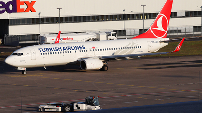 A picture of TCJZH - Boeing 7378F2 - Turkish Airlines - © Maxi Drefahl