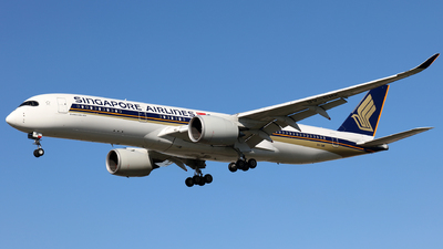 A picture of 9VSMK - Airbus A350941 - Singapore Airlines - © J.M.Carballo