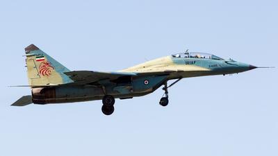 3-6305 - Mikoyan-Gurevich MiG-29UB Fulcrum B - Iran - Air Force