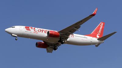 TC-TJP - Boeing 737-8BK - SpiceJet (Corendon Airlines)