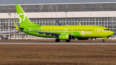 VP-BQD - Boeing 737-83N - S7 Airlines
