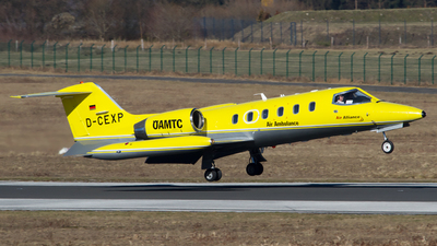 A picture of DCEXP - Learjet 35A -  - © Andreas van den Berg