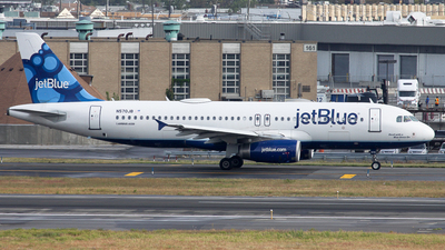 N570JB - Airbus A320-232 - jetBlue Airways