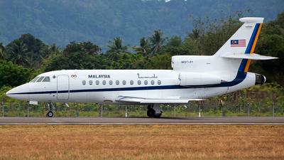 M37-01 - Dassault Falcon 900 - Malaysia - Air Force