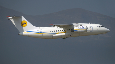 UR-NTA - Antonov An-148-100B - Ukraine International Airlines