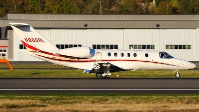 N800RL - Cessna 525 Citation CJ4 - Private