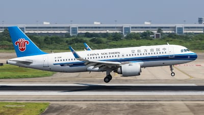 A picture of B301K - Airbus A320251N - China Southern Airlines - © Jerry.H