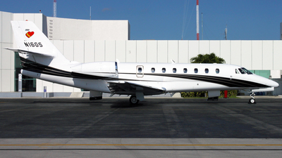 N16GS - Cessna 680 Citation Sovereign - Private