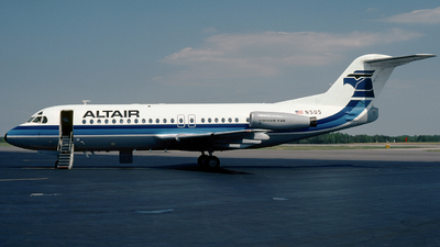N505 - Fokker F28-4000 Fellowship - Altair Airlines