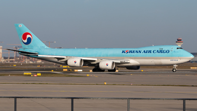 A picture of HL7639 - Boeing 7478B5(F) - Korean Air - © Tim Donell