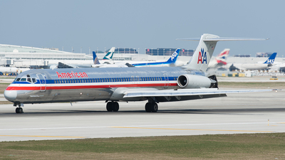 N44503 - McDonnell Douglas MD-82 - American Airlines