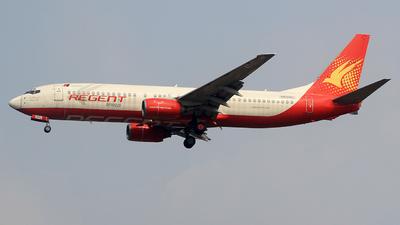 N539RL - Boeing 737-86N - Regent Airways