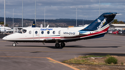 VH-OVS - Beechcraft 400A Beechjet - Careflight