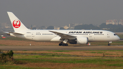 A picture of JA824J - Boeing 7878 Dreamliner - Japan Airlines - © Ha Tai Nguyen