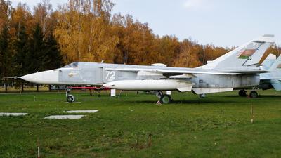 72 - Sukhoi Su-24MR Fencer E - Belarus - Air Force