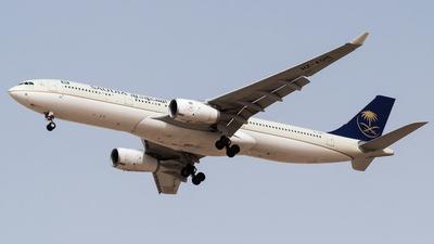 HZ-AQ15 - Airbus A330-343 - Saudi Arabian Airlines