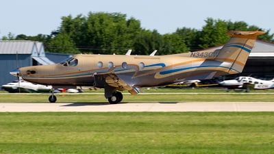 N343CW - Pilatus PC-12/45 - Private