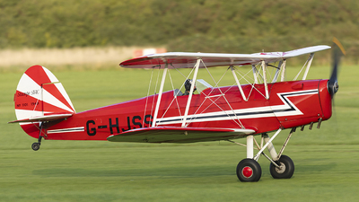 G-HJSS - SNCAN/Stampe SV.4C - Private