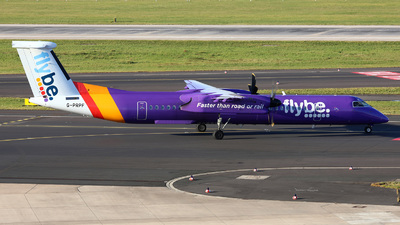 A picture of GPRPF - De Havilland Canada Dash 8400 - Flybe - © D.Kleintz