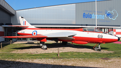 WV395 - Hawker Hunter F.51 - United Kingdom - Royal Air Force (RAF)