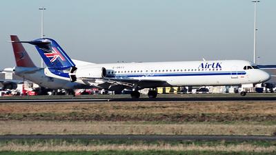 G-UKFC - Fokker 100 - Air UK