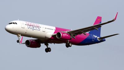 D-AVXJ - Airbus A321-231 - Wizz Air