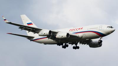 RA-96021 - Ilyushin IL-96-300PU - Rossiya - Special Flight Squadron