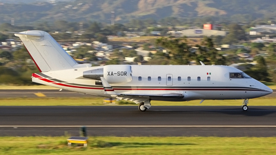 XA-SOR - Bombardier CL-600-2B16 Challenger 601-3R - Private