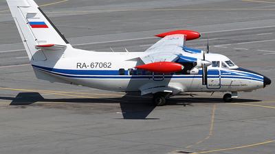 RA-67062 - Let L-410UVP-E20 Turbolet - Arkhangelsk Second Aviation Enterprise