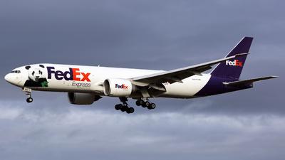 N883FD - Boeing 777-F28 - FedEx