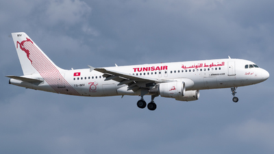 TS-IMV - Airbus A320-214 - Tunisair