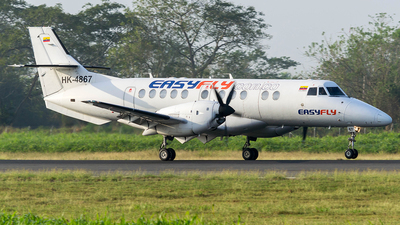HK-4867 - British Aerospace Jetstream 41 - EasyFly
