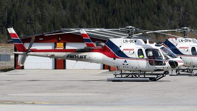 LN-OCW - Aérospatiale AS 350B3 Ecureuil - Airlift