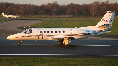 F-HLIM - Cessna 560 Citation Ultra - Private